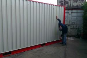 container opmeten details