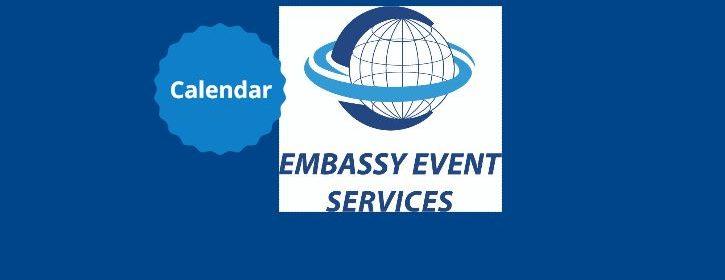 Embassy Event Services Event Calendar