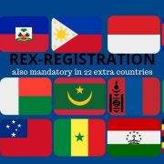 REX mandatory in 22 countries